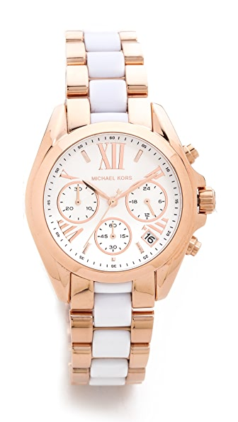 Michael Kors Safari Chic Mini Bradshaw Watch