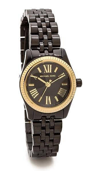 Michael Kors Midnight Safari Petite Lexington Watch
