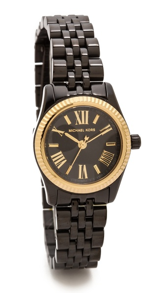 Michael Kors Midnight Safari Petite Lexington Watch