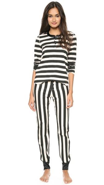 Morgan Lane Cara Stripe Pajamas