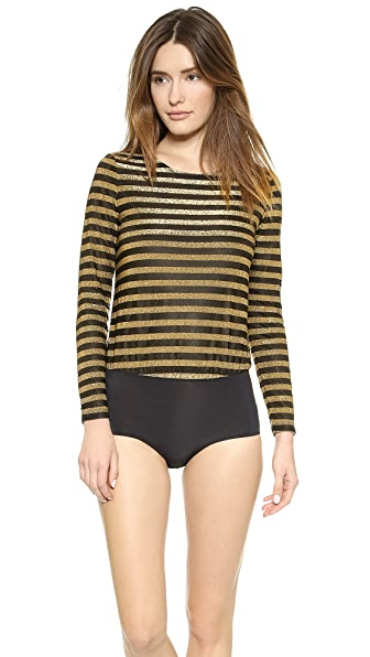 Morgan Morgan Astrid Frankie Bodysuit (Yellow)