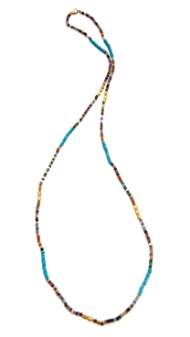 Mary Louise Designs Long Beaded Necklace