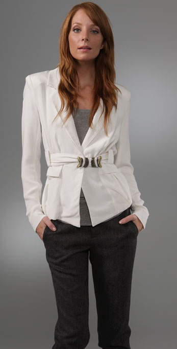 Madison Marcus Gilt Blazer with Belt