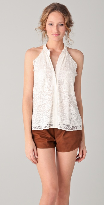 Madison Marcus Thrive Lace Top