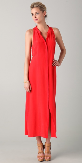 Madison Marcus Solids Maxi Dress