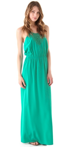 Madison Marcus Halter Maxi Dress