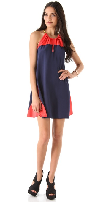 Madison Marcus Silk Tunic Dress