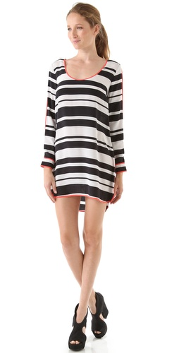 Madison Marcus Versed Striped Dress