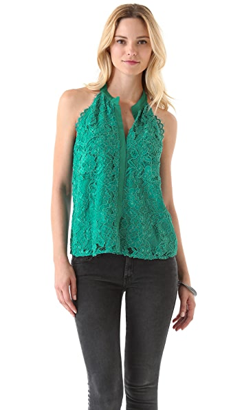 Madison Marcus Thrive Lace Tank