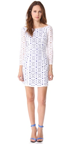 Madison Marcus Fore Lace Shift Dress
