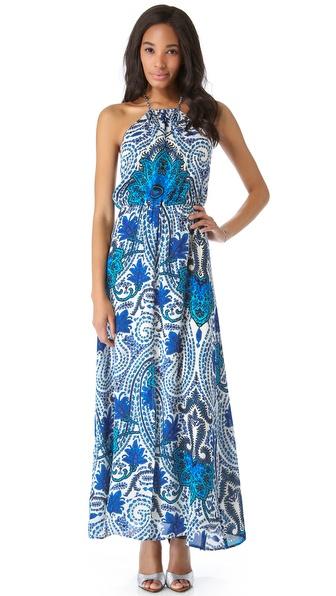 Madison Marcus Pop Maxi Dress