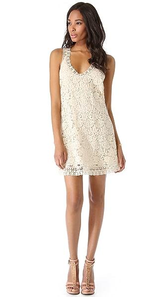 Madison Marcus Zing Crochet Dress