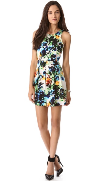 Madison Marcus Captivate Racer Back Dress