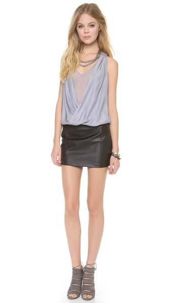 Madison Marcus Hue V Neck Dress
