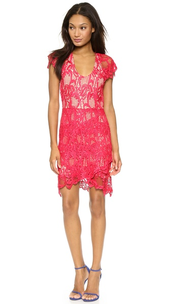 Madison Marcus Humanity Lace Dress