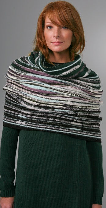 M Missoni Smoke Ring Scarf