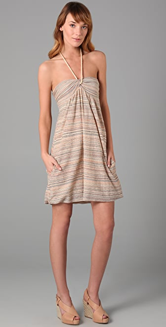 M Missoni Pocket Halter Dress