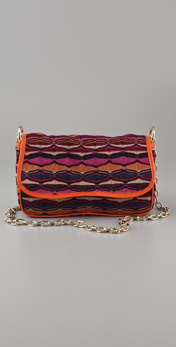 M Missoni Lurex Candy Stripe Bag