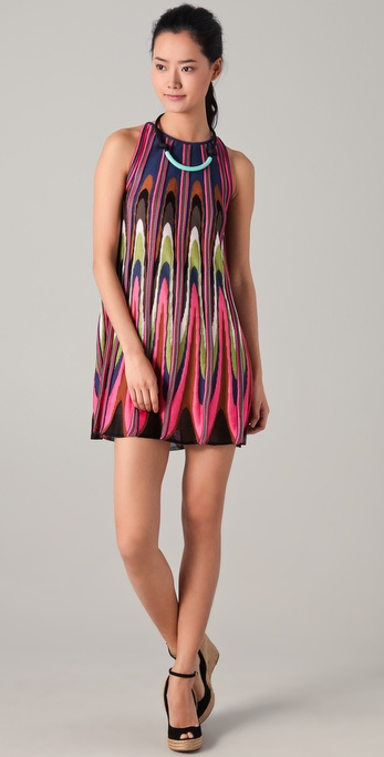 M Missoni Knit Trapeze Dress