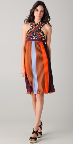 M Missoni Cross Front Knit Dress