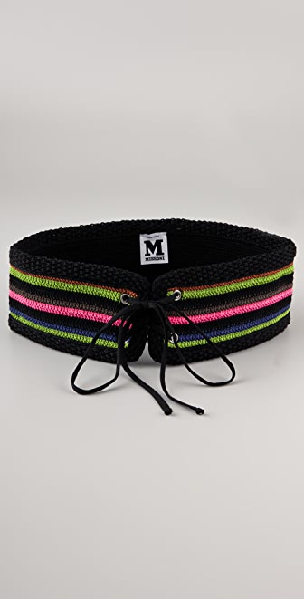 M Missoni Crochet Belt