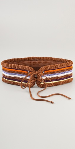 M Missoni Crochet Belt