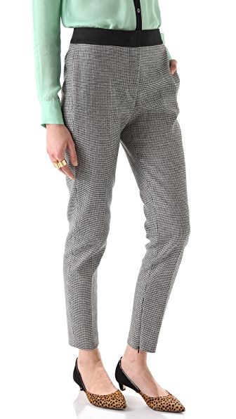 M Missoni Mini Houndstooth Cropped Pants