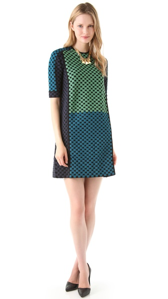 M Missoni Multicolored Jacquard Dress