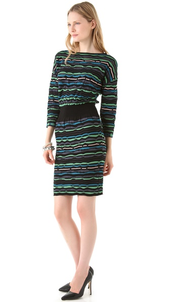 M Missoni Ribbon Stitch Dress