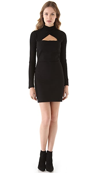 M Missoni Ponte Cutout Dress