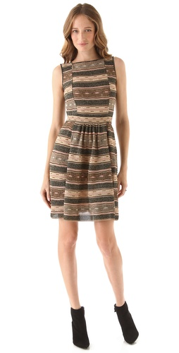 Shop M Missoni Wave Peephole Dress and M Missoni online - Apparel,Womens,Dresses,Day_to_Night, online Store