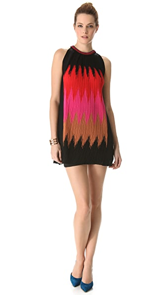 M Missoni Horizon Flame Halter Dress