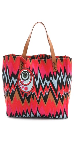 M Missoni Zigzag Tote at Shopbop.com