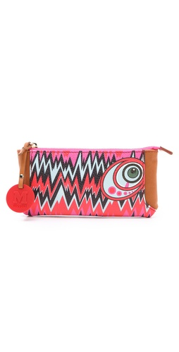 M Missoni Graphic Zigzag Wallet at Shopbop.com