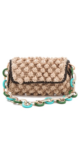 M Missoni Rafia Shoulder Bag at Shopbop.com