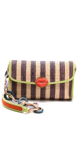 M Missoni Raffia Stripe Shoulder Bag at Shopbop.com