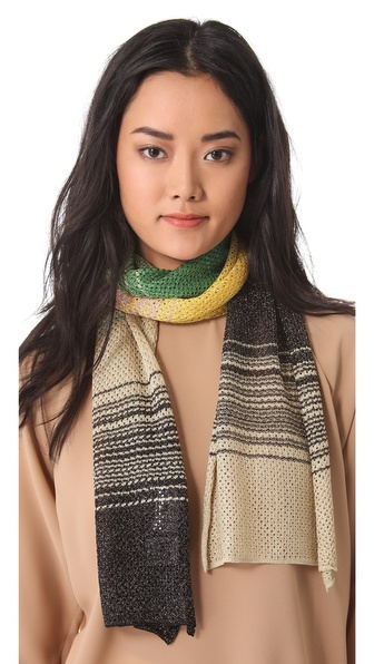 M Missoni Lurex Scarf