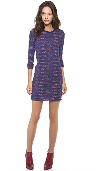 M Missoni Mixed Media Dress