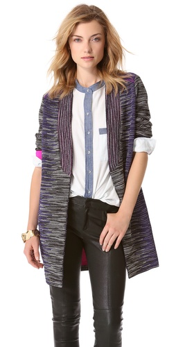 M Missoni Lurex Space Dye Cardigan