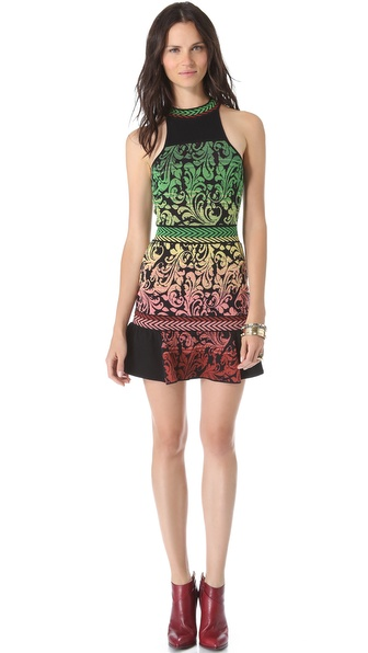 M Missoni Brocade Intarsia Dress
