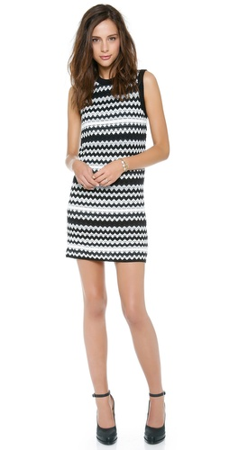 M Missoni Tubular Zigzag Tank Dress