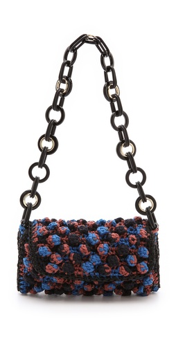 M Missoni Chain Link Woven Shoulder Bag at Shopbop / East Dane