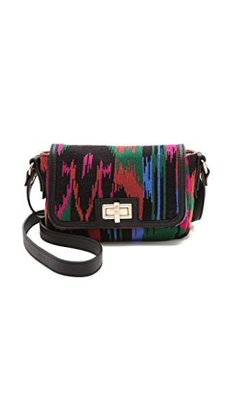 M Missoni Structured Woven Shoulder Bag