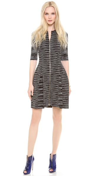 M Missoni Neoprene Space Dye Zip Dress