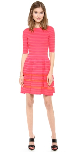 M Missoni Ribbed Short Sleeve Dress at Shopbop / East Dane