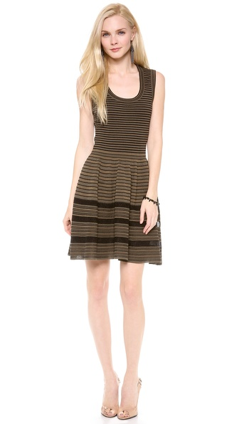 M Missoni Rib Stitch Sleeveless Dress