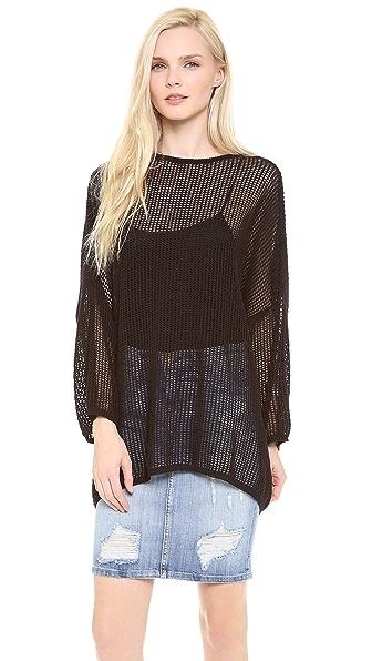 M Missoni Cotton Mesh Sweater