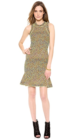 M Missoni Snake Skin Jacquard Dress