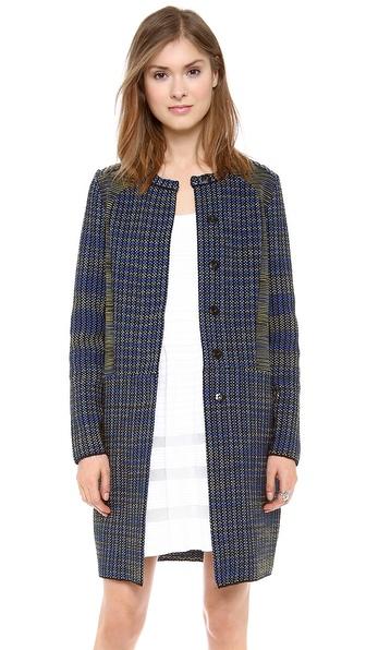 M Missoni Space Dye Tweed Coat