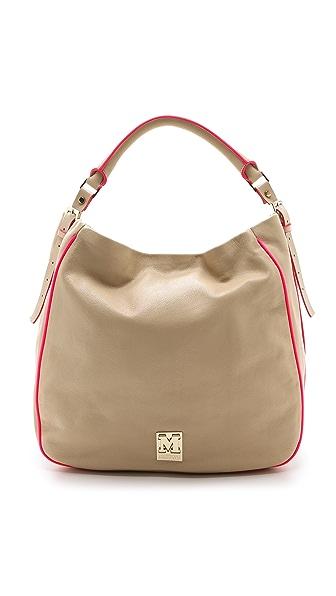 M Missoni Leather Hobo Bag